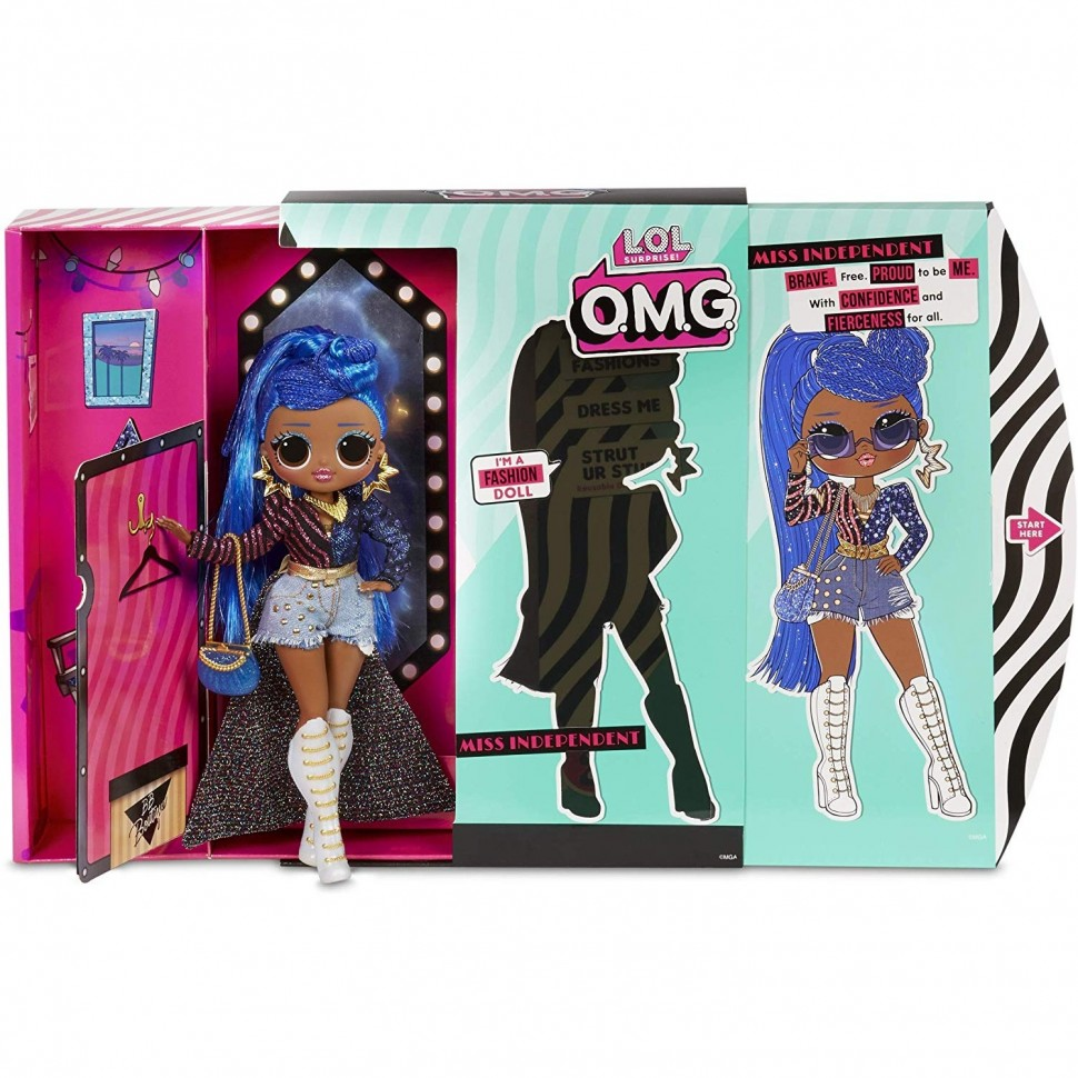 Фото LOL Surprise OMG Series 2 Miss Independent Fashion Doll